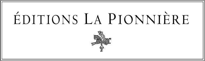 Logo - Éditions La Pionnière